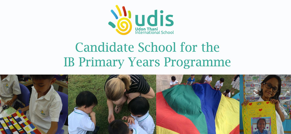 UDIS is a candidate school for the IB's PYP