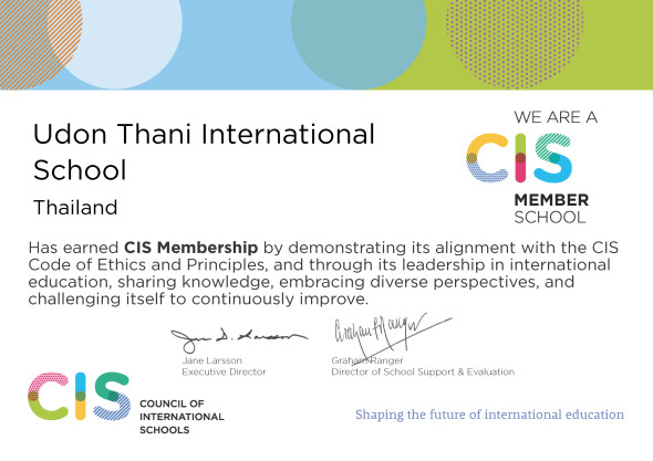 CIS Member School - Udon Thani International School